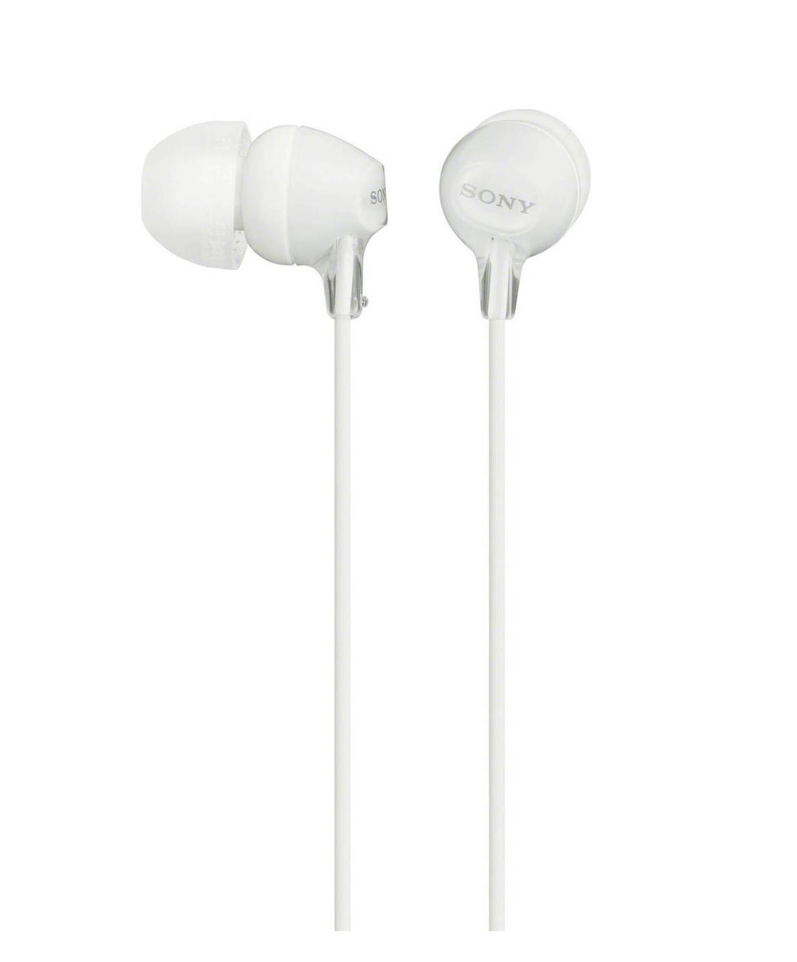 Sony MDR-EX15LPW In-Ear Headphones White