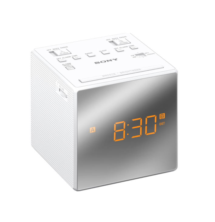 Sony ICF-C1TW Alarm Clock White