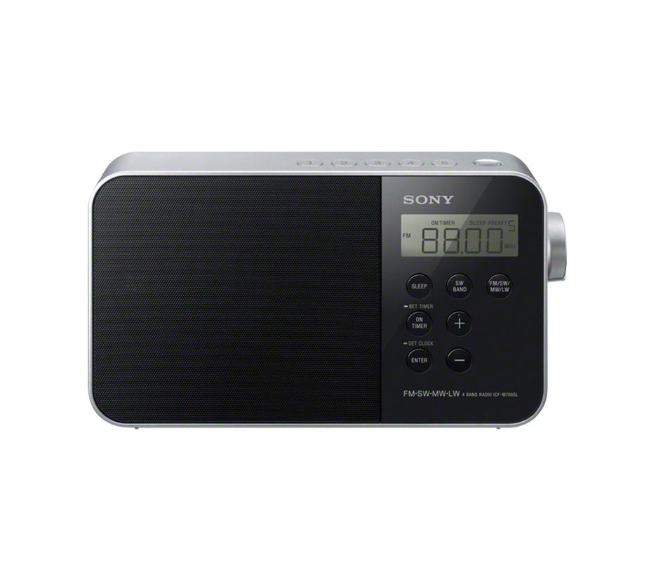 Sony ICF-M780SL Ραδιόφωνο Black