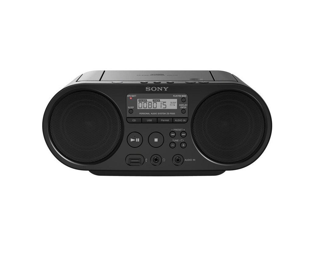 Sony ZS-PS50 Φορητό Ηχοσυστήμα ZSPS50B Black