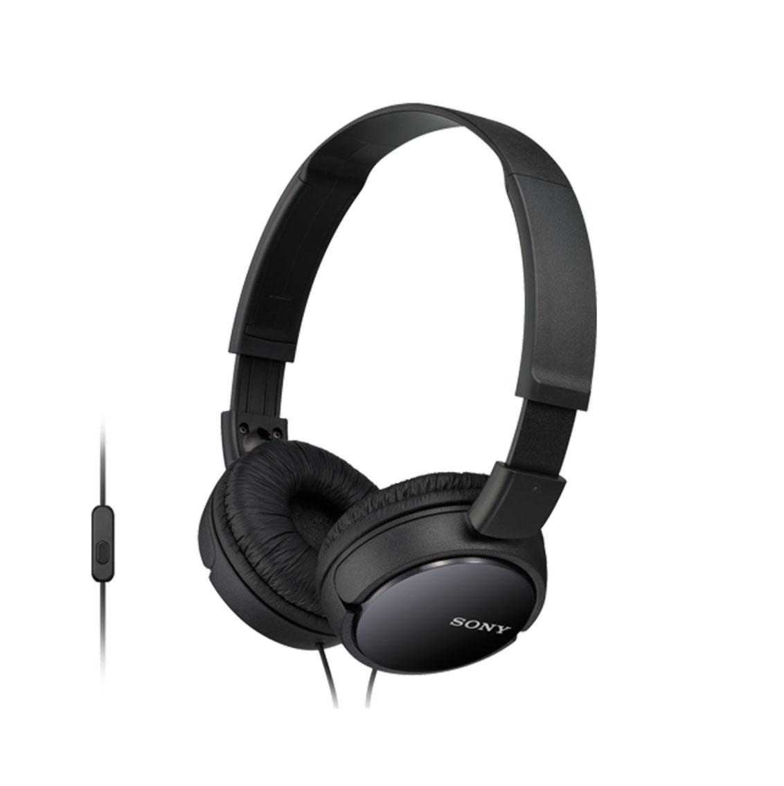 Sony MDR-ZX110APB Headphones Black