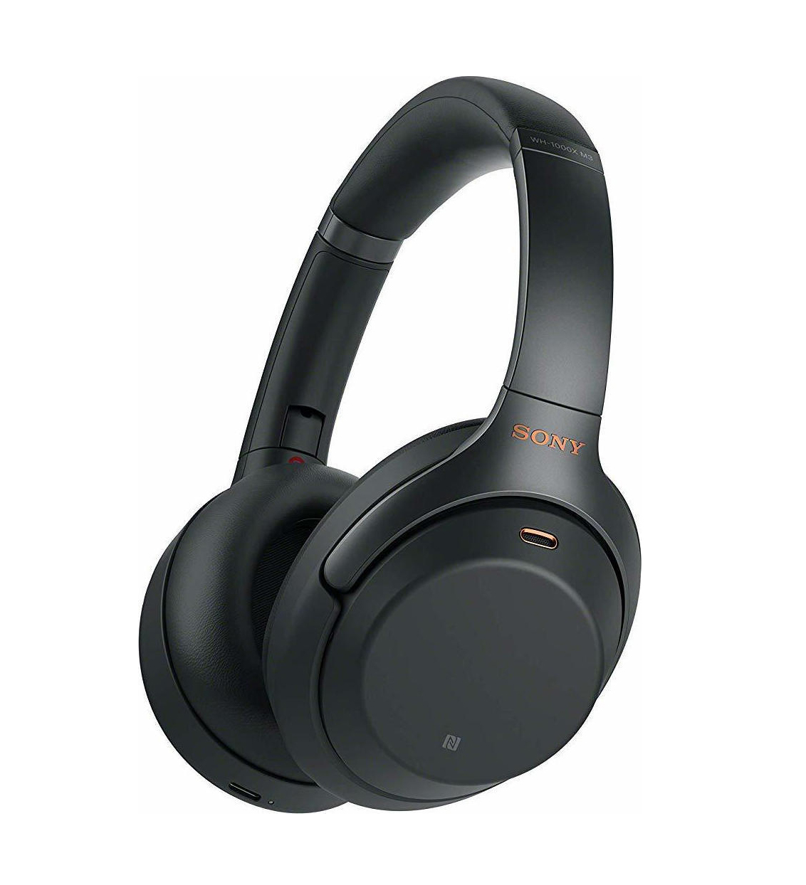 Sony WH-1000XM3 Noise-Cancelling Bluetooth Headphones Black