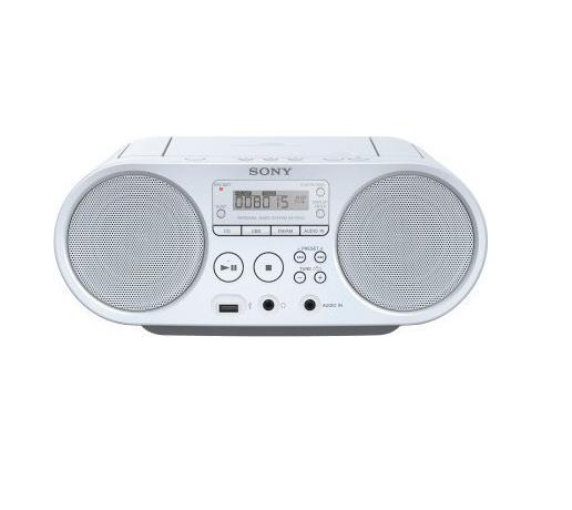 Sony ZS-PS50 Φορητό Ηχοσύστημα ZSPS50W White