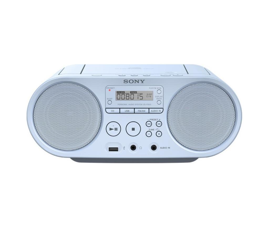 Sony ZS-PS50 Φορητό Ηχοσύστημα ZSPS50L Blue