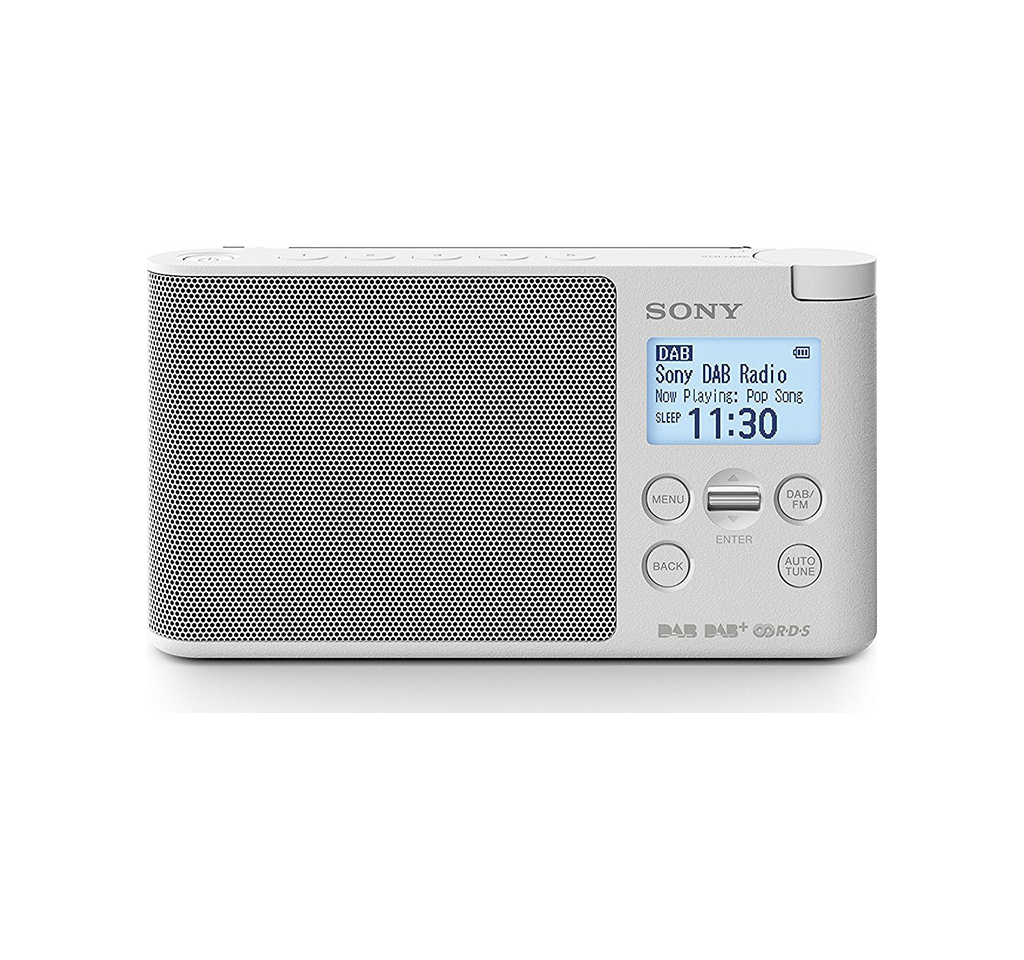 Sony XDR-S41DW Ραδιόφωνο White