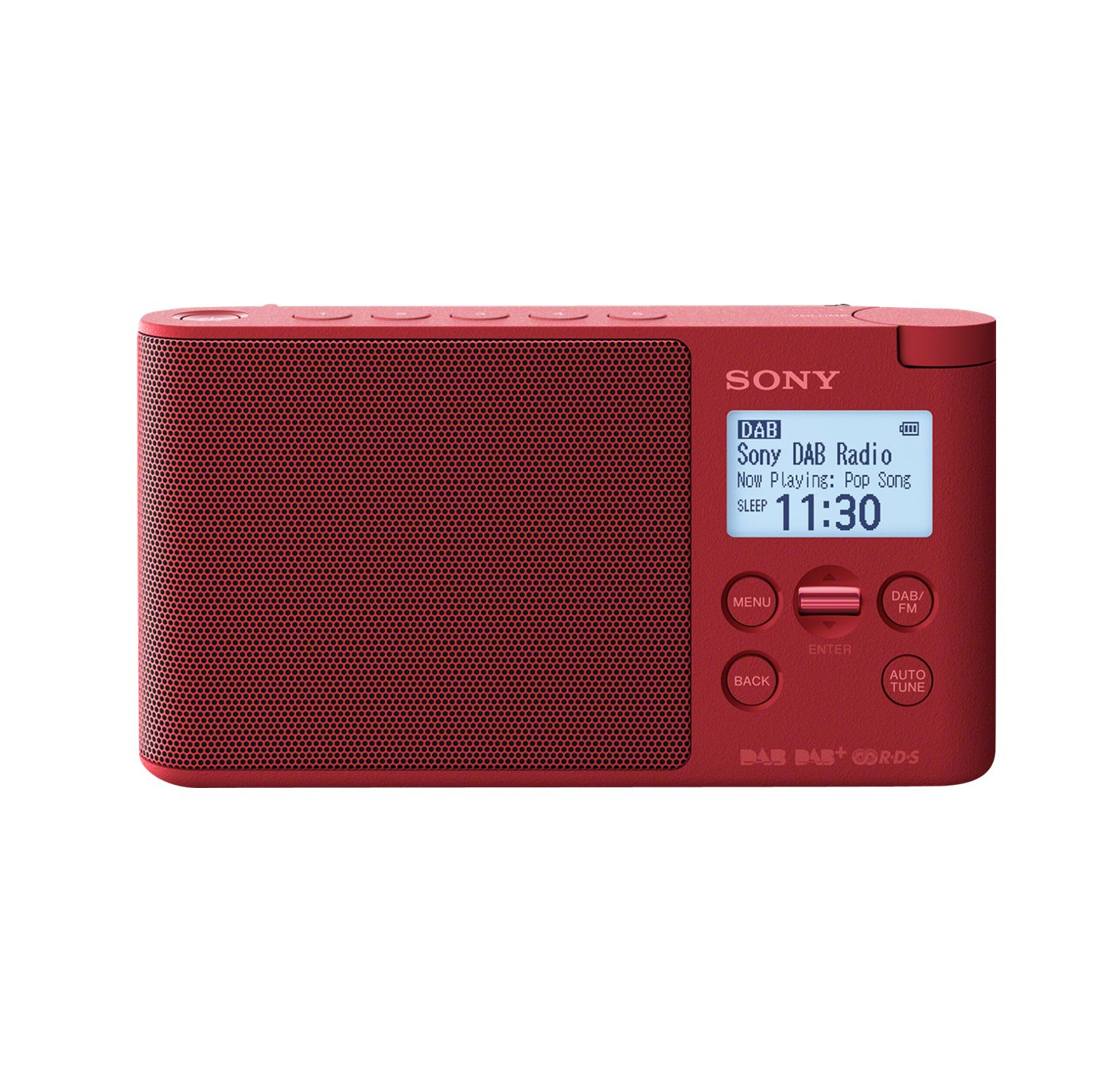 Sony XDR-S41DR Ραδιόφωνο Red