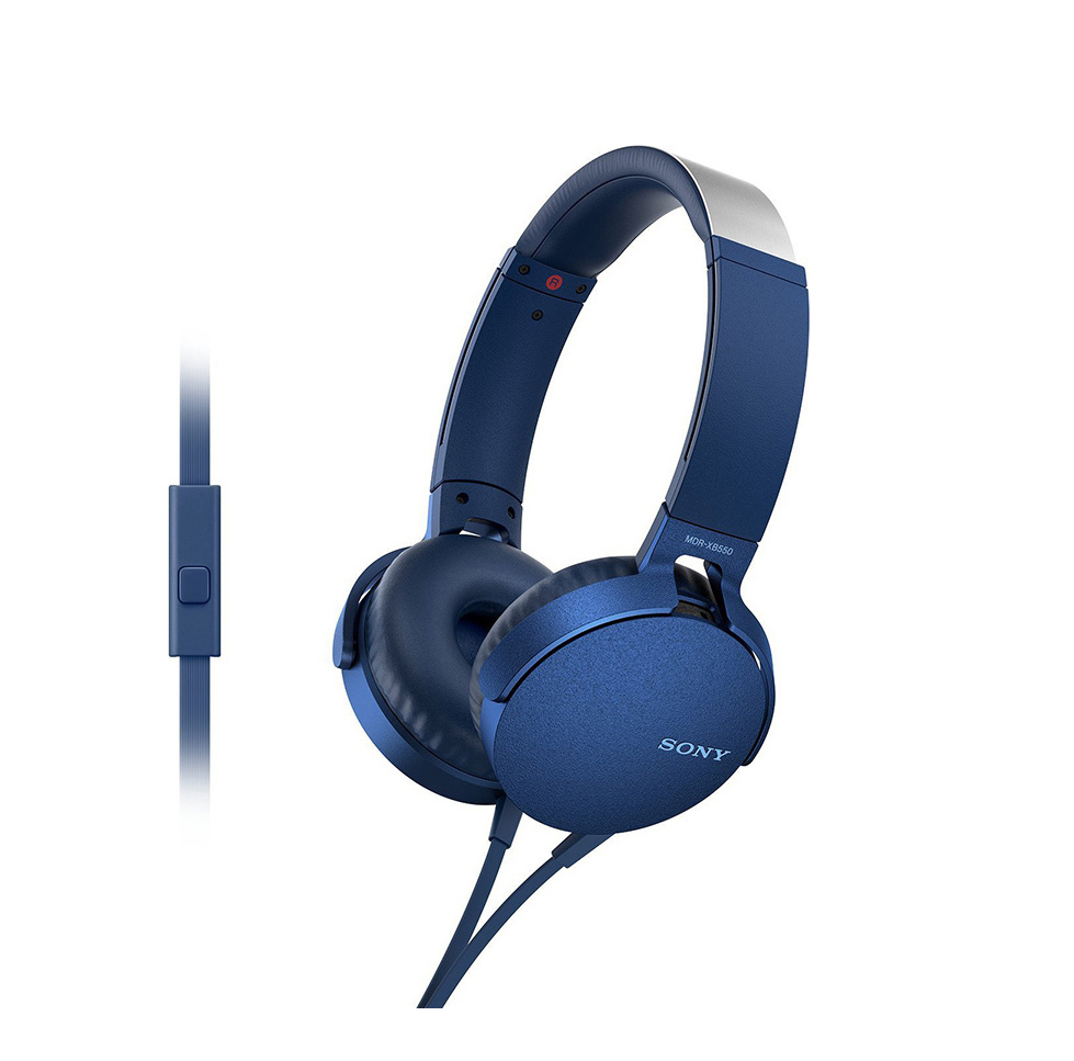 Sony MDR-XB550APL Blue