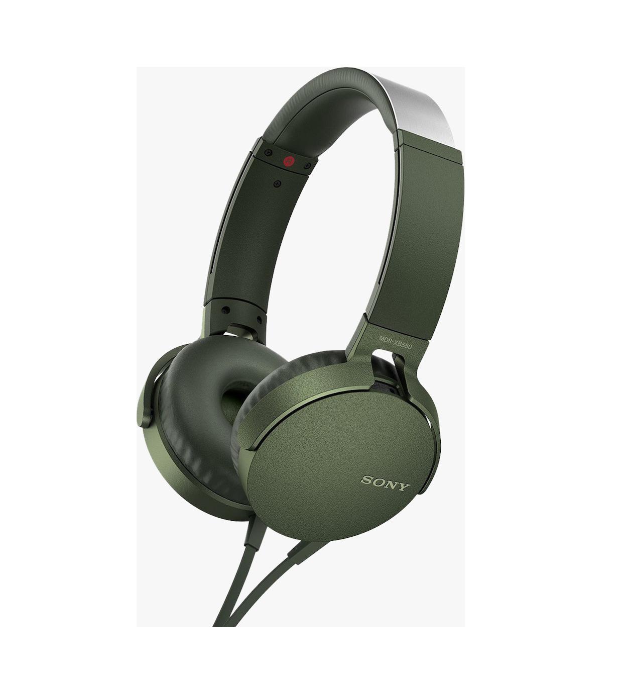 Sony MDR-XB550APG Green