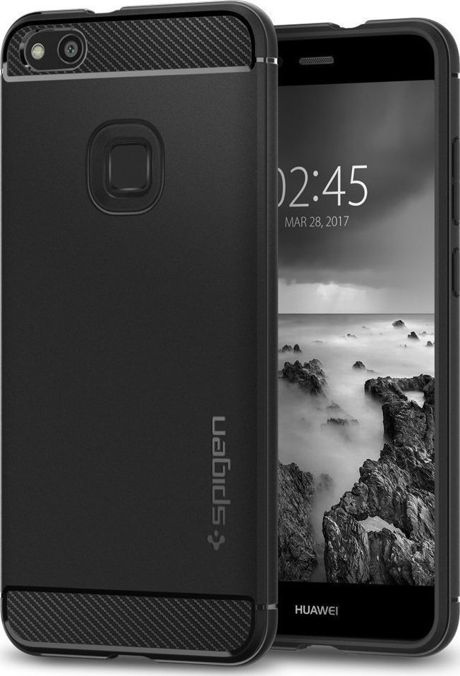 Θήκη Spigen Rugged Armor για Huawei P10 Lite Black