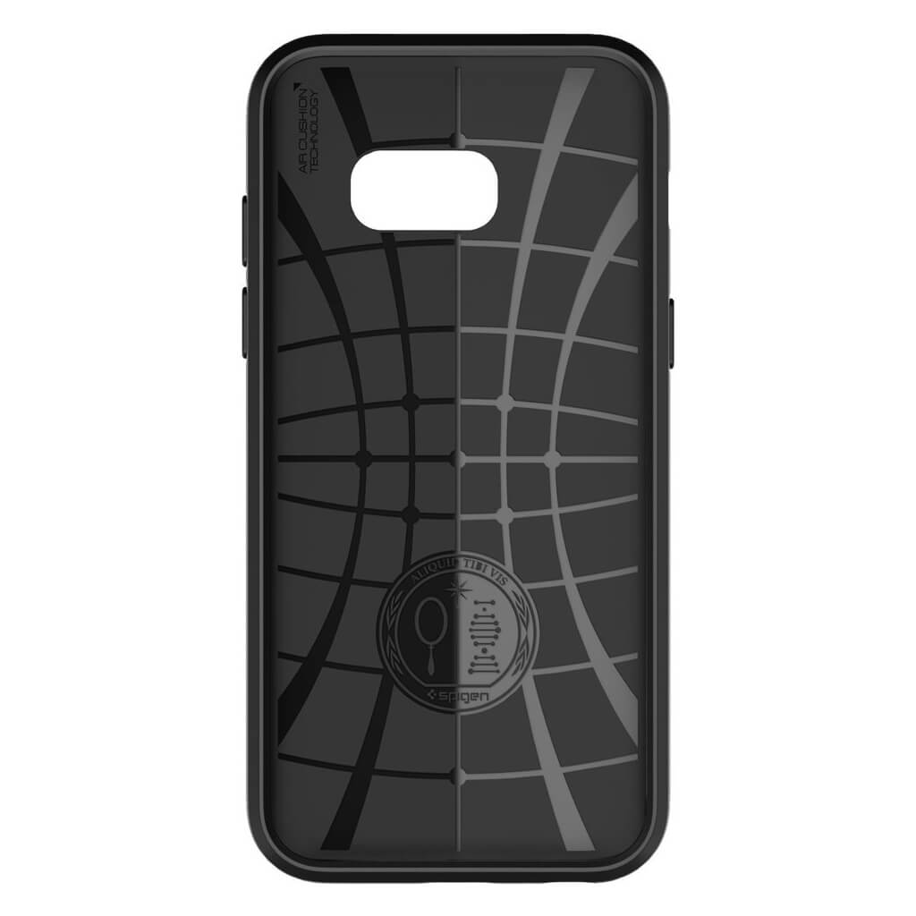 Θήκη Spigen Liquid Air Armor για Samsung Galaxy A3 2017 A320 Black