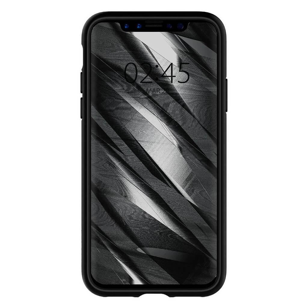 Θήκη Spigen Liquid Air Armor για iPhone X Matte Black
