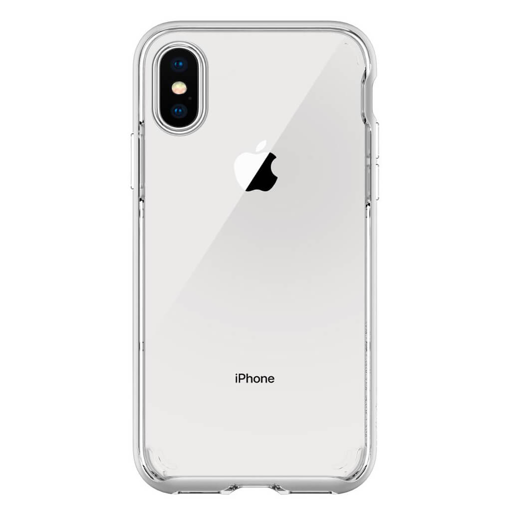 Θήκη Spigen Neo Hybrid Crystal για iPhone X Satin Silver