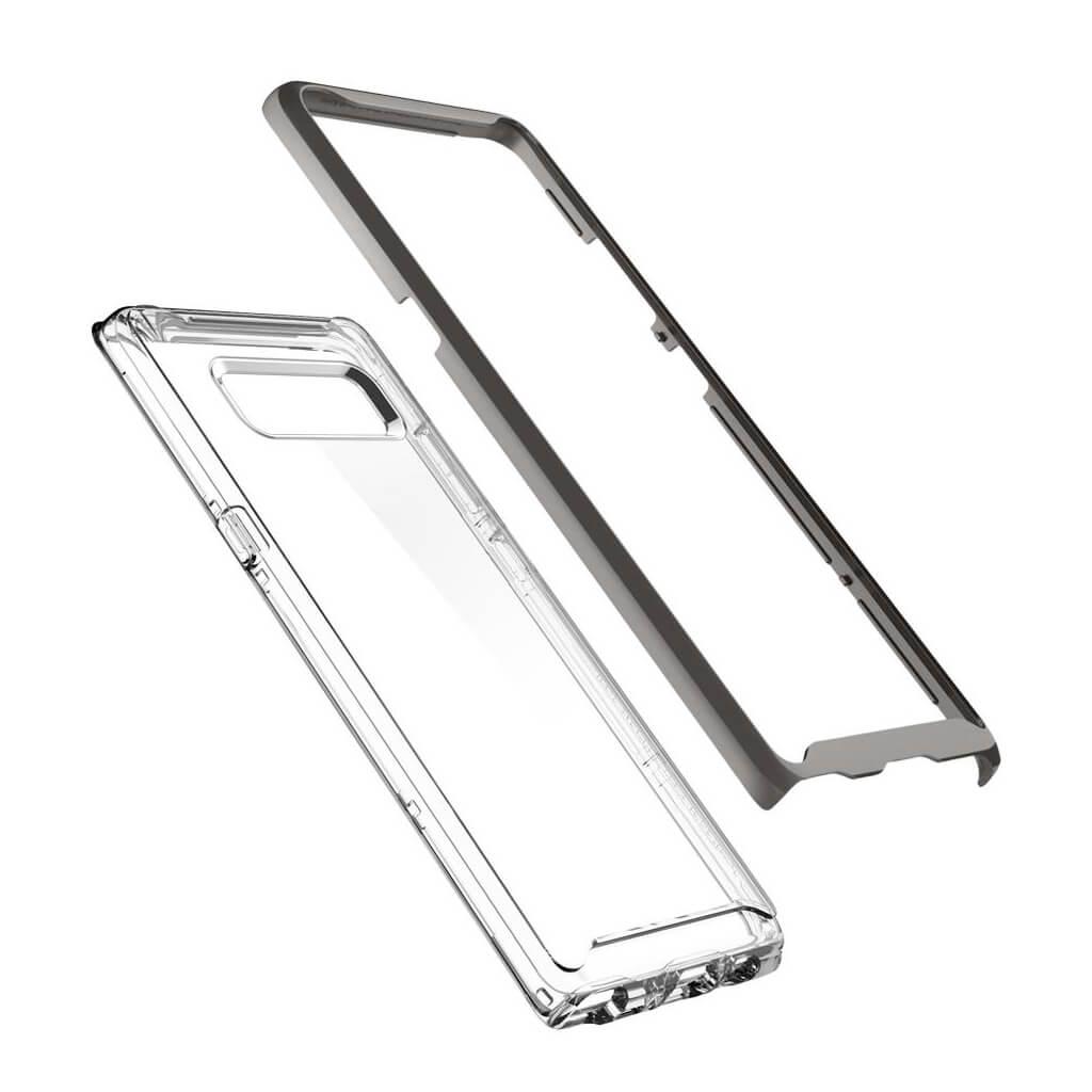Θήκη Spigen Neo Hybrid Crystal για Samsung Galaxy Note 8 Gunmetal