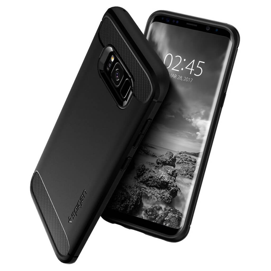 Θήκη Spigen Rugged Armor για Samsung Galaxy S8 Plus G955 Black