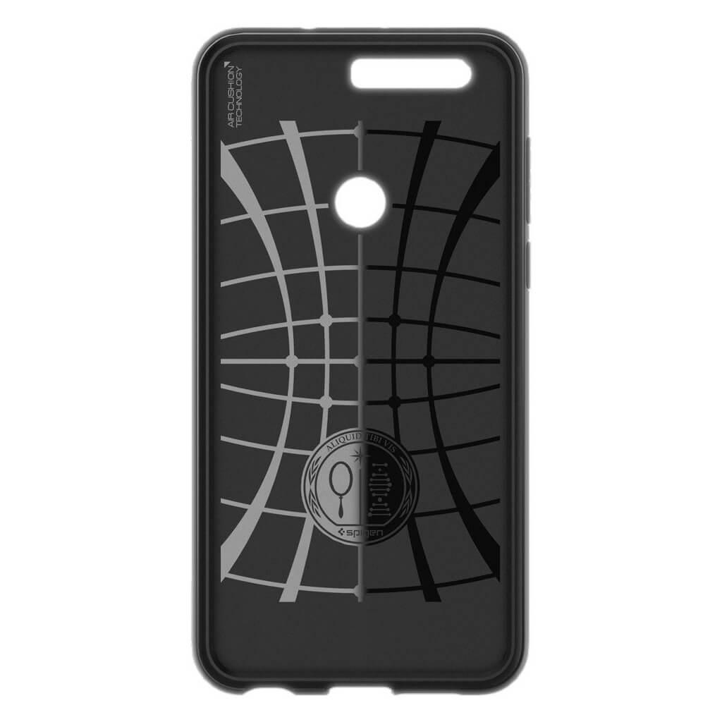 Θήκη Spigen Rugged Armor για Huawei Honor 8 Black