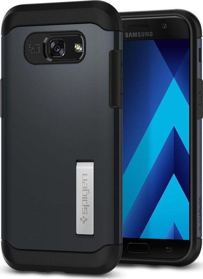 Θήκη Spigen Slim Armor για Samsung Galaxy A5 2017 A520 Metal Slate