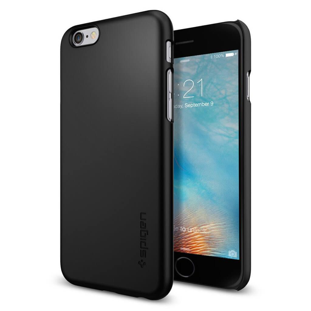 Θήκη Spigen Thin Fit για iPhone 6/6s Black