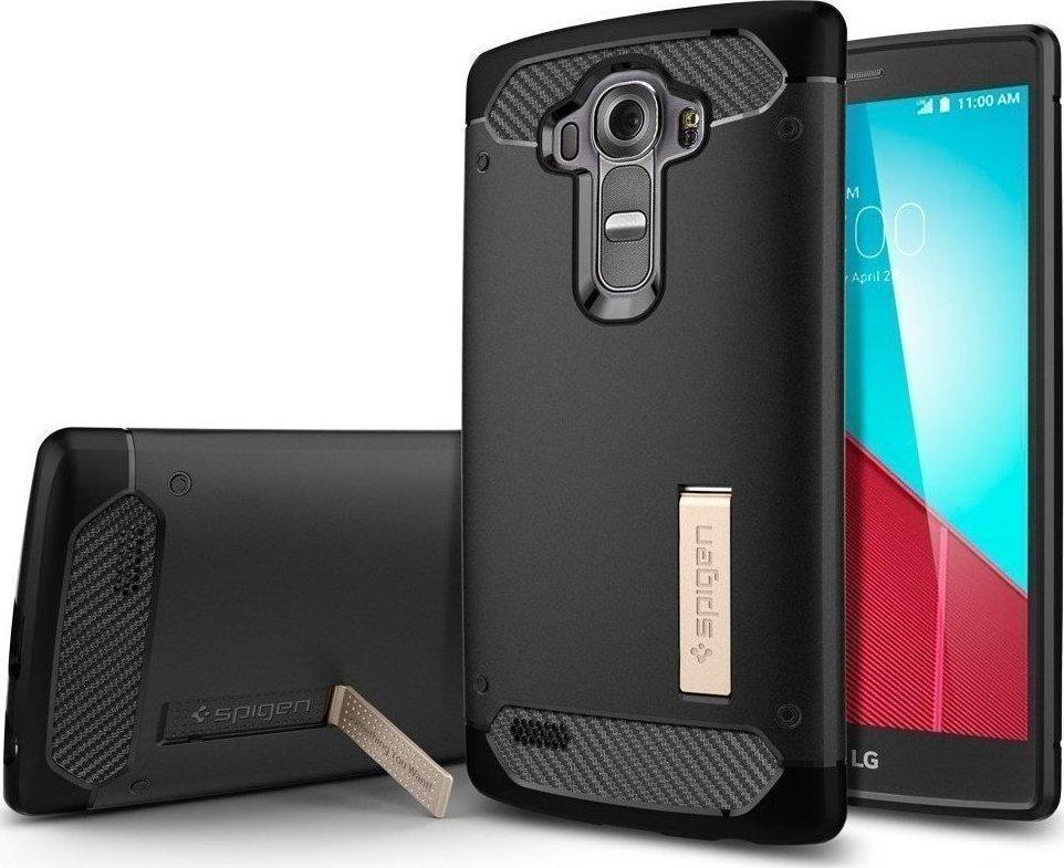 Θήκη Spigen Rugged Armor για LG G4 Black