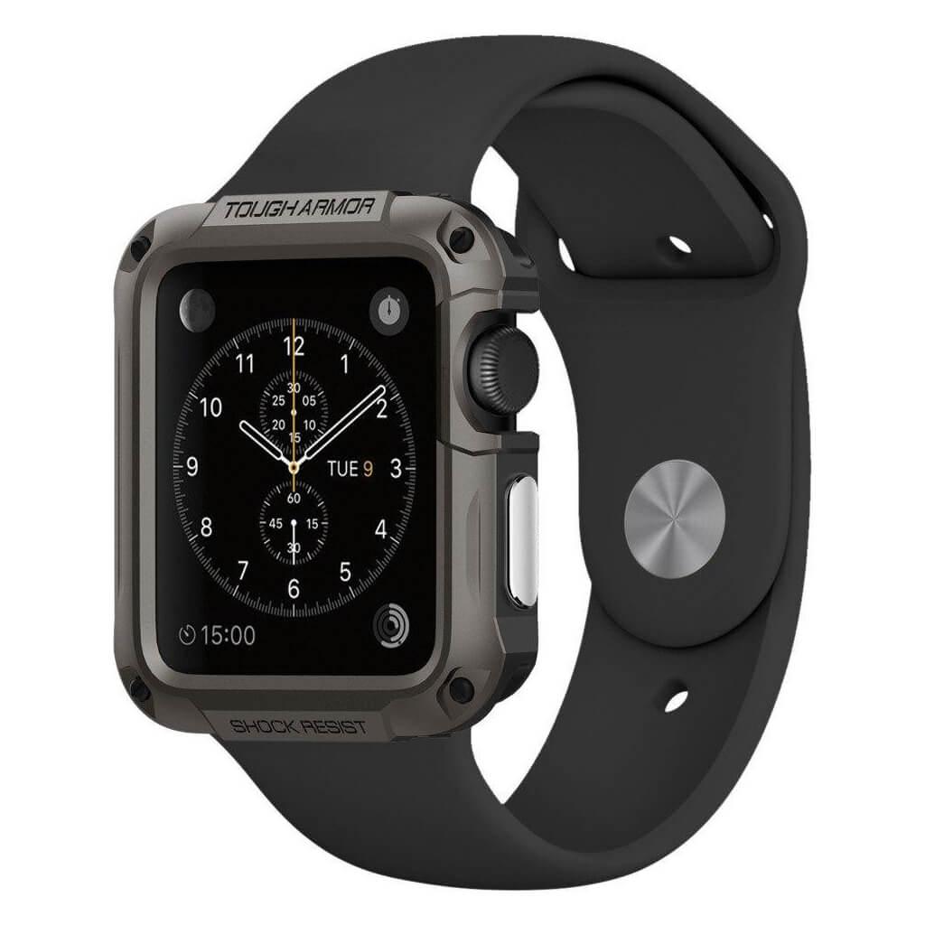 Θήκη Spigen Tough Armor για Apple Watch Series 3/2/1 (42mm) Gunmetal