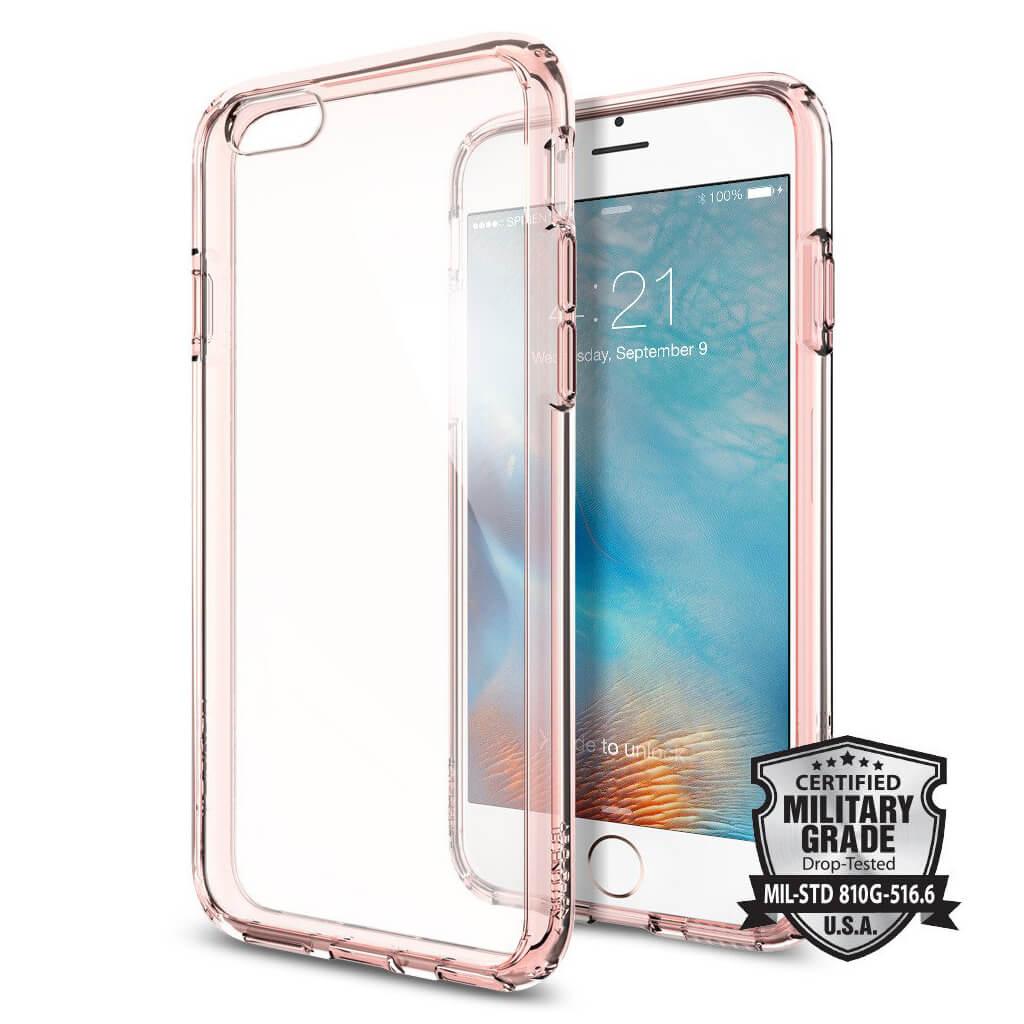Θήκη Spigen Ultra Hybrid για iPhone 6/6s Rose Crystal