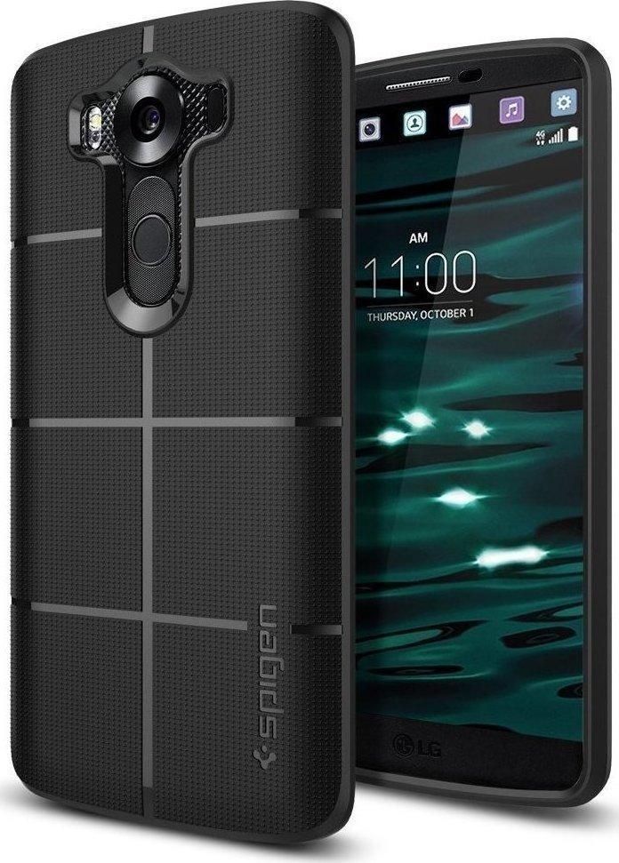 Θήκη Spigen Rugged Armor για LG V10 Black