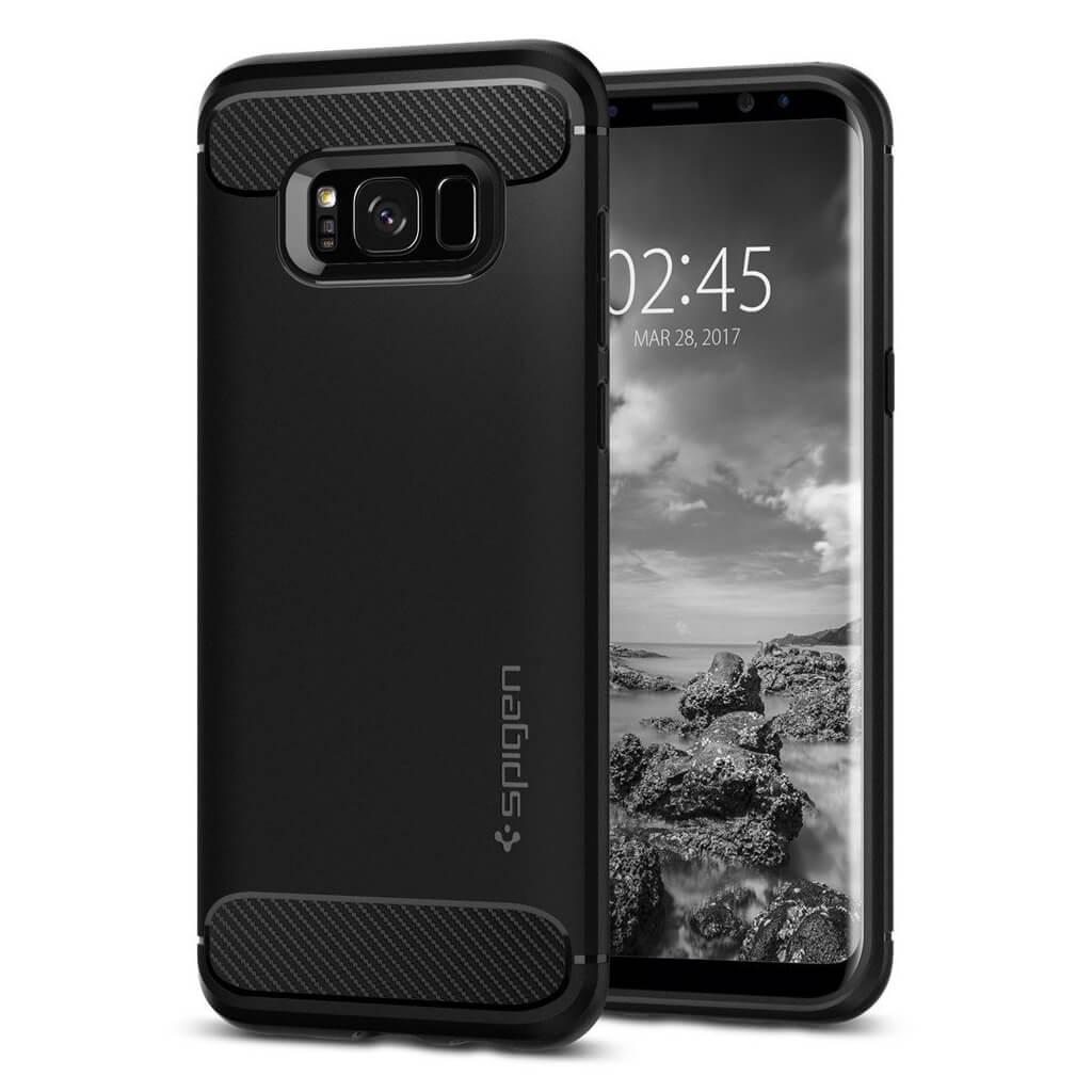 Θήκη Spigen Rugged Armor για Samsung Galaxy S8 G950 Black