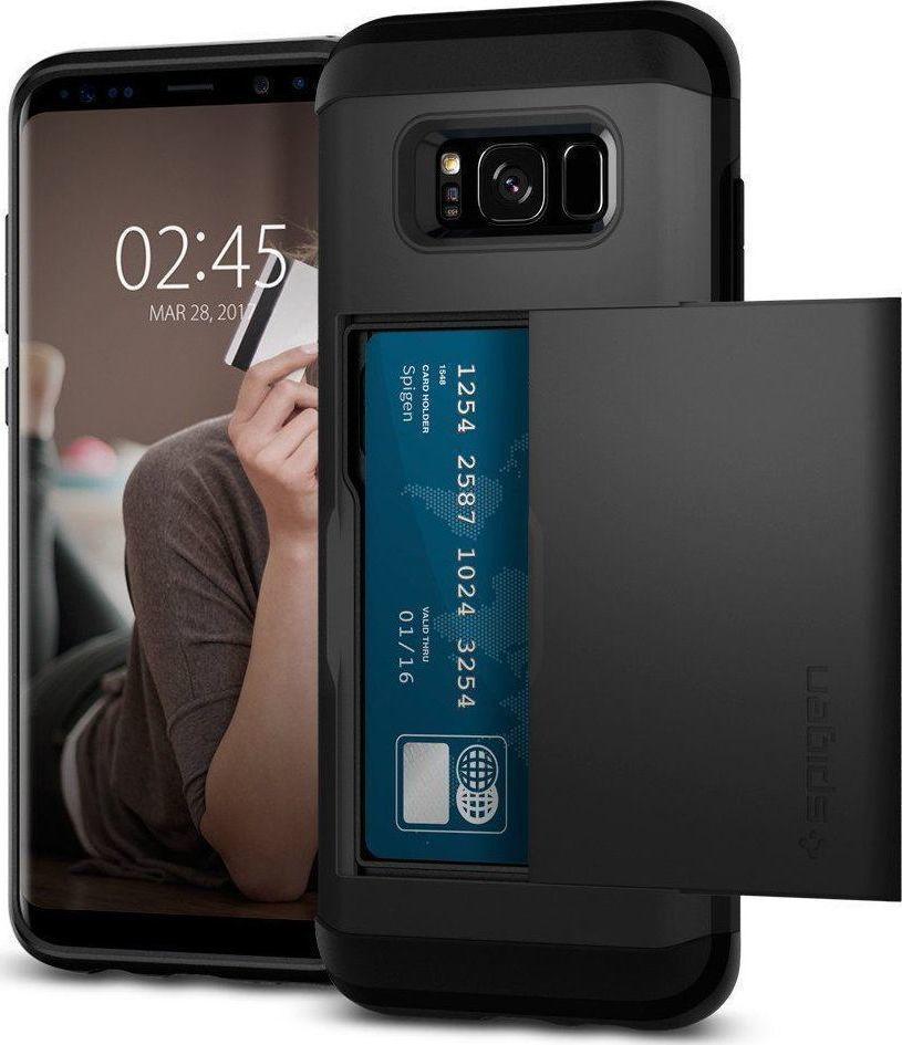 Θήκη Spigen Slim Armor CS για Samsung Galaxy S8 G950 Black