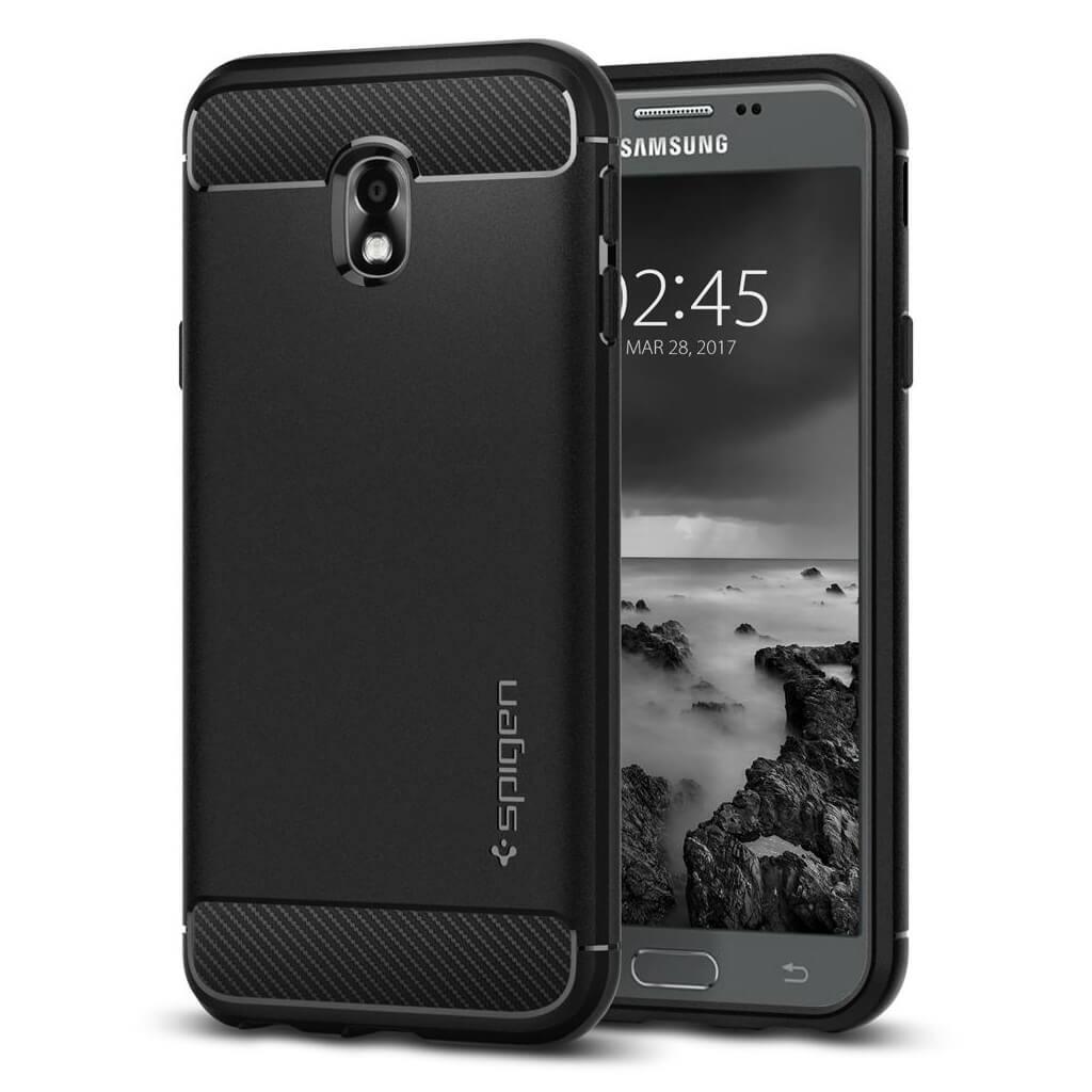 Θήκη Spigen Rugged Armor για Samsung Galaxy J3 2017 J330 Black
