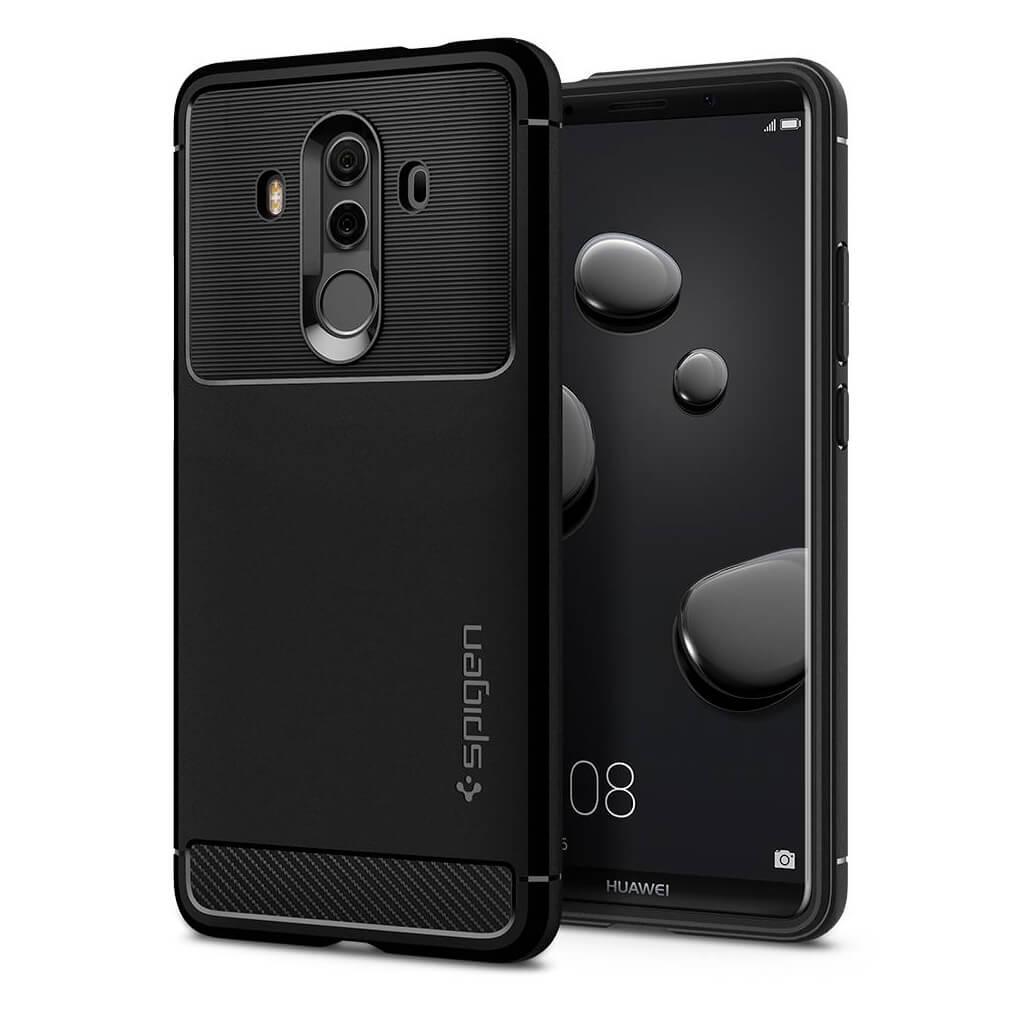 Θήκη Spigen Rugged Armor για Huawei Mate 10 Pro Black