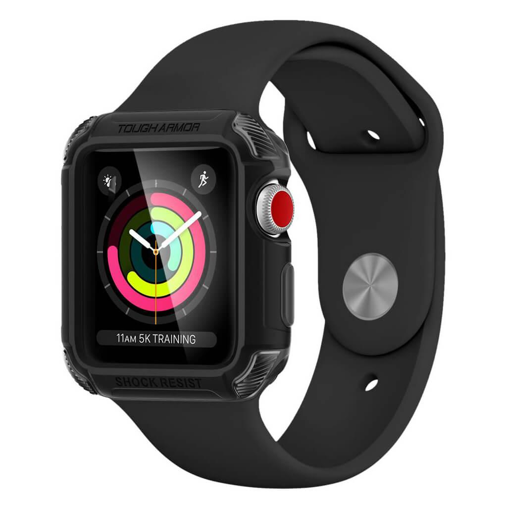 Θήκη Spigen Tough Armor 2 για Apple Watch Series 3/2/1 (42mm) Matte Black