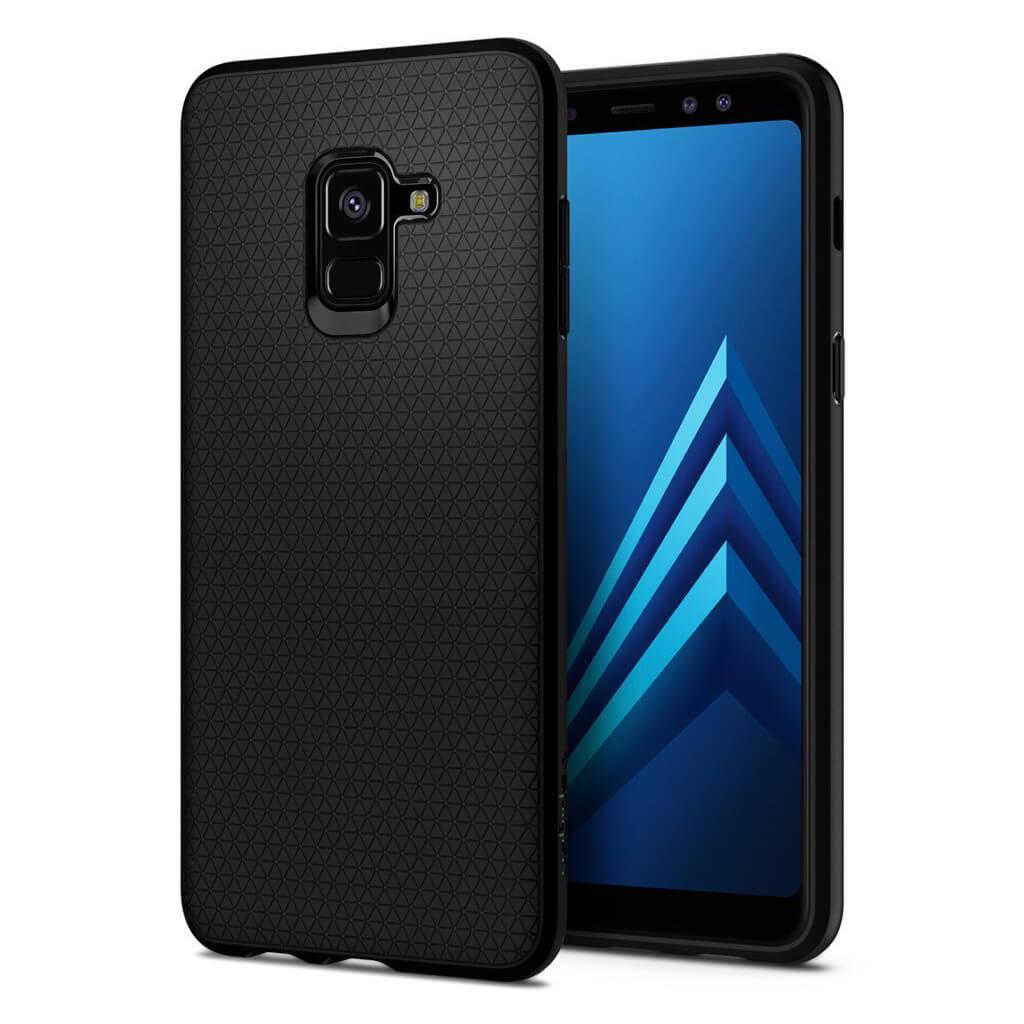 Θήκη Spigen Liquid Air Armor για Samsung Galaxy A8 2018 A530 Matte Black