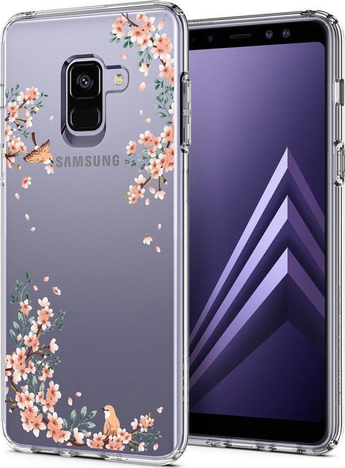 Θήκη Spigen Liquid Crystal για Samsung Galaxy A8 2018 A530 Blossom Nature