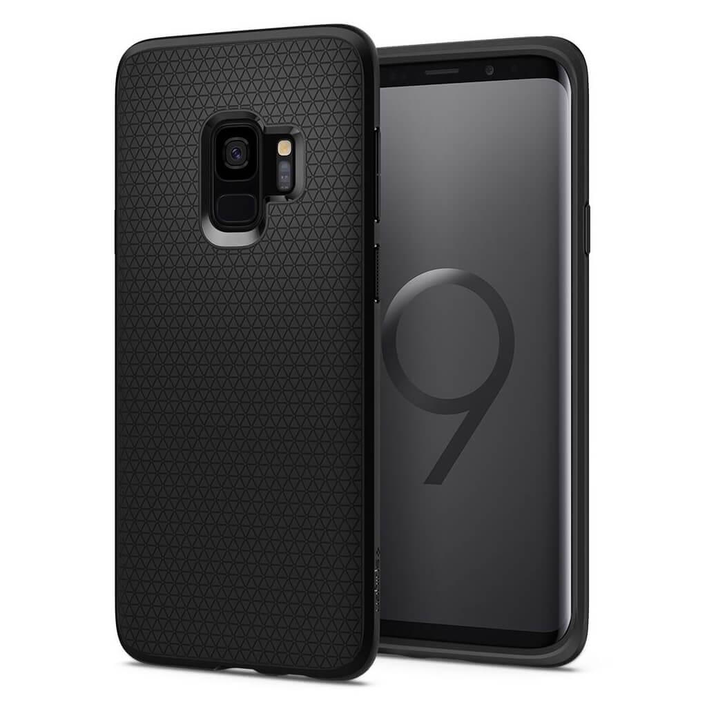 Θήκη Spigen Liquid Air Armor για Samsung Galaxy S9 G960 Matte Black