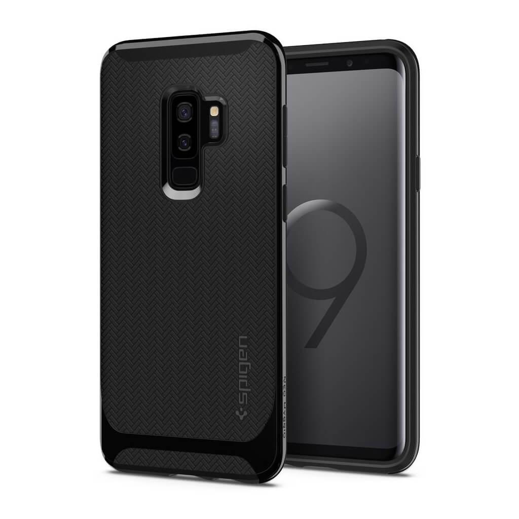 Θήκη Spigen Neo Hybrid για Samsung Galaxy S9 Plus G965 Shiny Black
