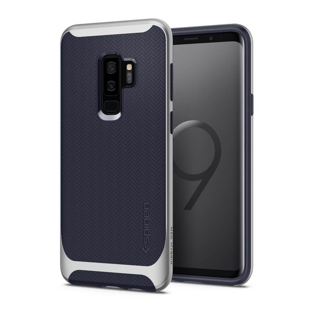 Θήκη Spigen Neo Hybrid για Samsung Galaxy S9 Plus G965 Arctic Silver