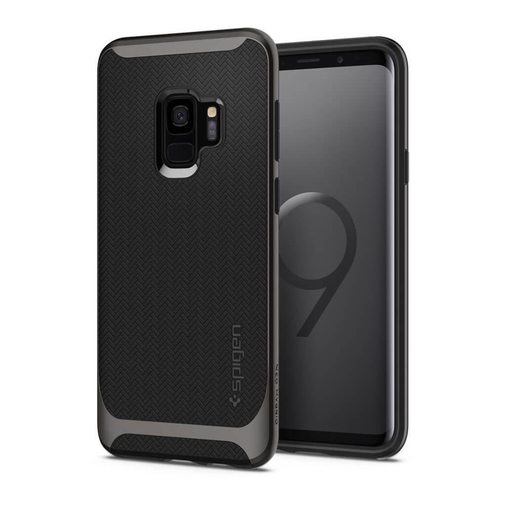 Θήκη Spigen Neo Hybrid για Samsung Galaxy S9 G960 Gunmetal