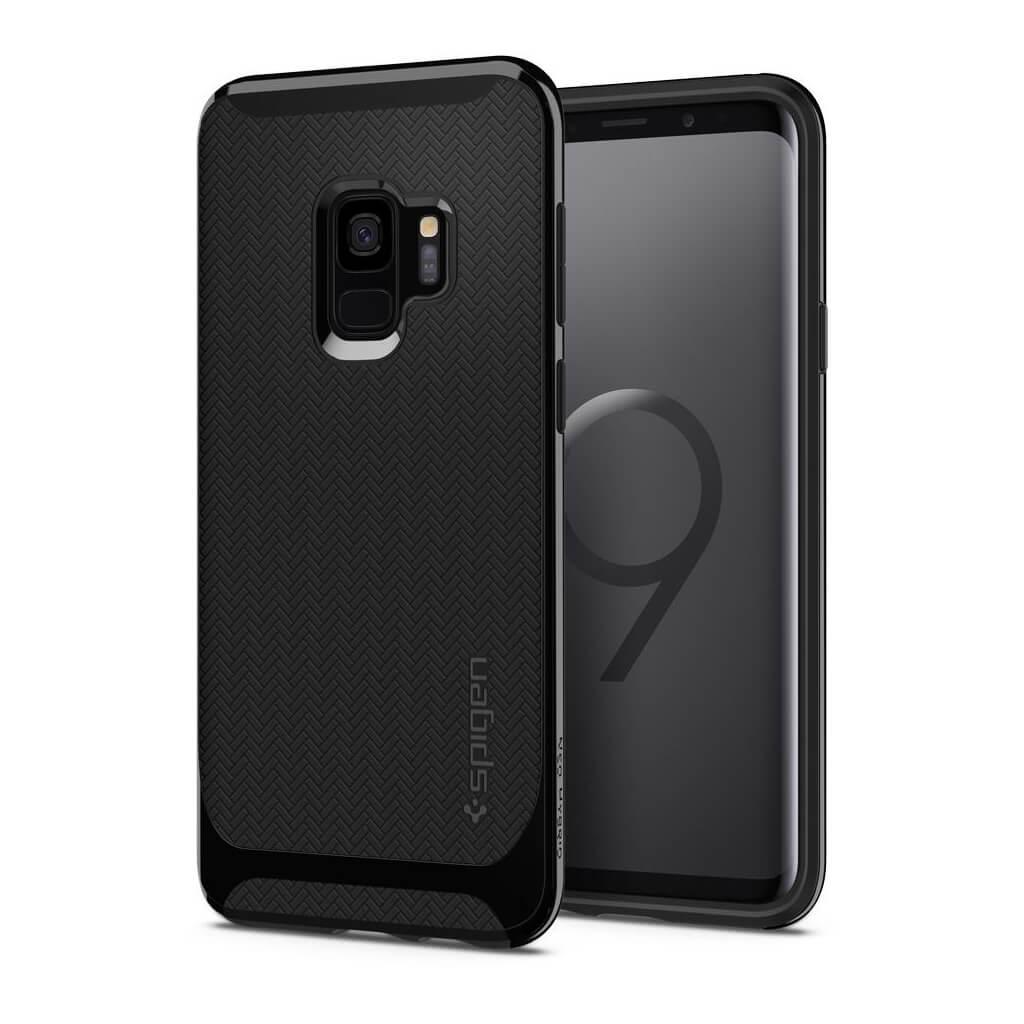 Θήκη Spigen Neo Hybrid για Samsung Galaxy S9 G960 Shiny Black