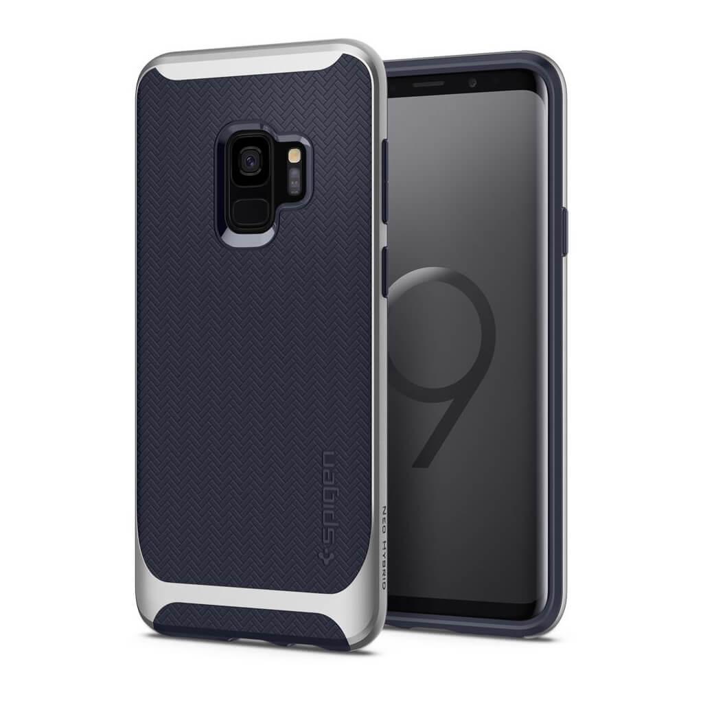 Θήκη Spigen Neo Hybrid για Samsung Galaxy S9 G960 Arctic Silver