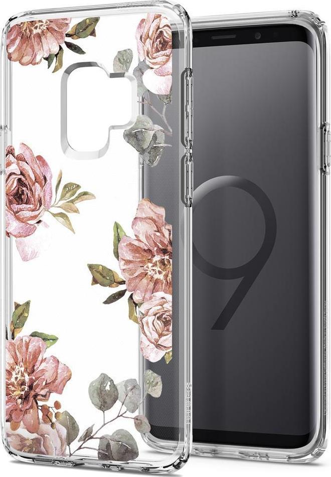 Θήκη Spigen Liquid Crystal για Samsung Galaxy S9 G960 Blossom Flower