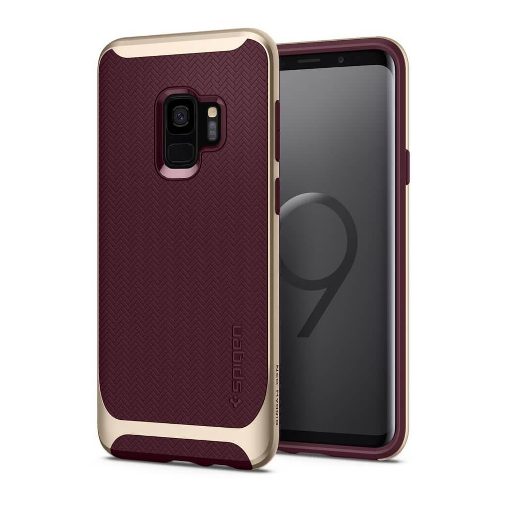 Θήκη Spigen Neo Hybrid για Samsung Galaxy S9 G960 Burgundy