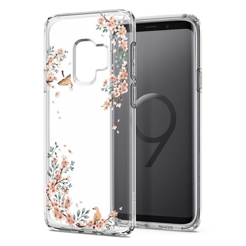 Θήκη Spigen Liquid Crystal για Samsung Galaxy S9 G960 Blossom Nature