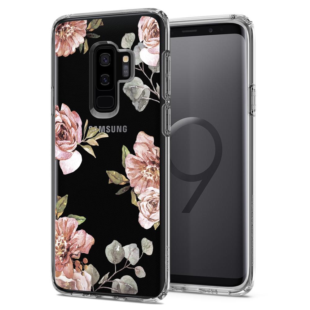 Θήκη Spigen Liquid Crystal για Samsung Galaxy S9 Plus G965 Blossom Flower