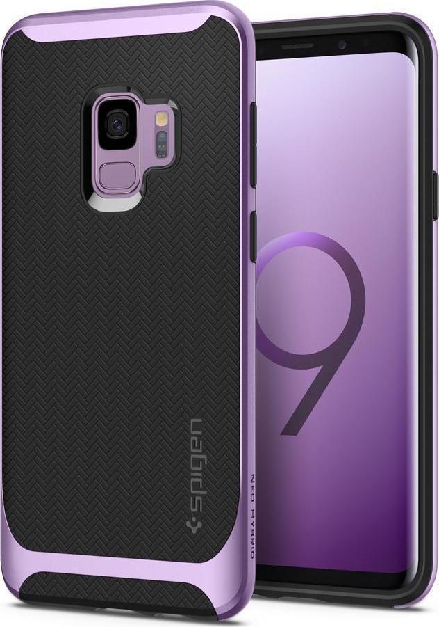 Θήκη Spigen Neo Hybrid για Samsung Galaxy S9 G960 Lilac Purple