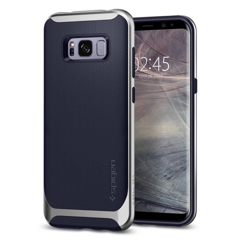 Θήκη Spigen Neo Hybrid για Samsung Galaxy S8 Plus G955 Silver Arctic