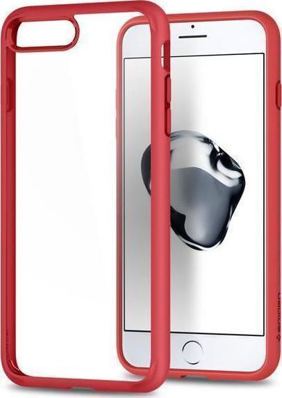 Θήκη Spigen Ultra Hybrid 2 για iPhone 7 Plus/8 Plus Red