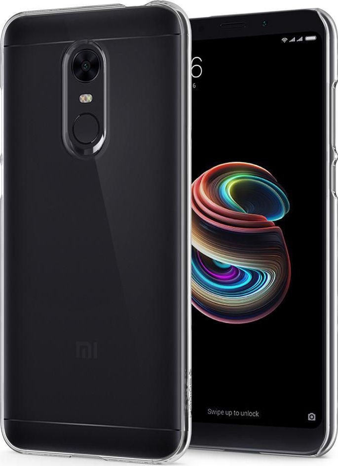 Θήκη Spigen Thin Fit για Xiaomi Redmi 5 Plus Crystal Clear