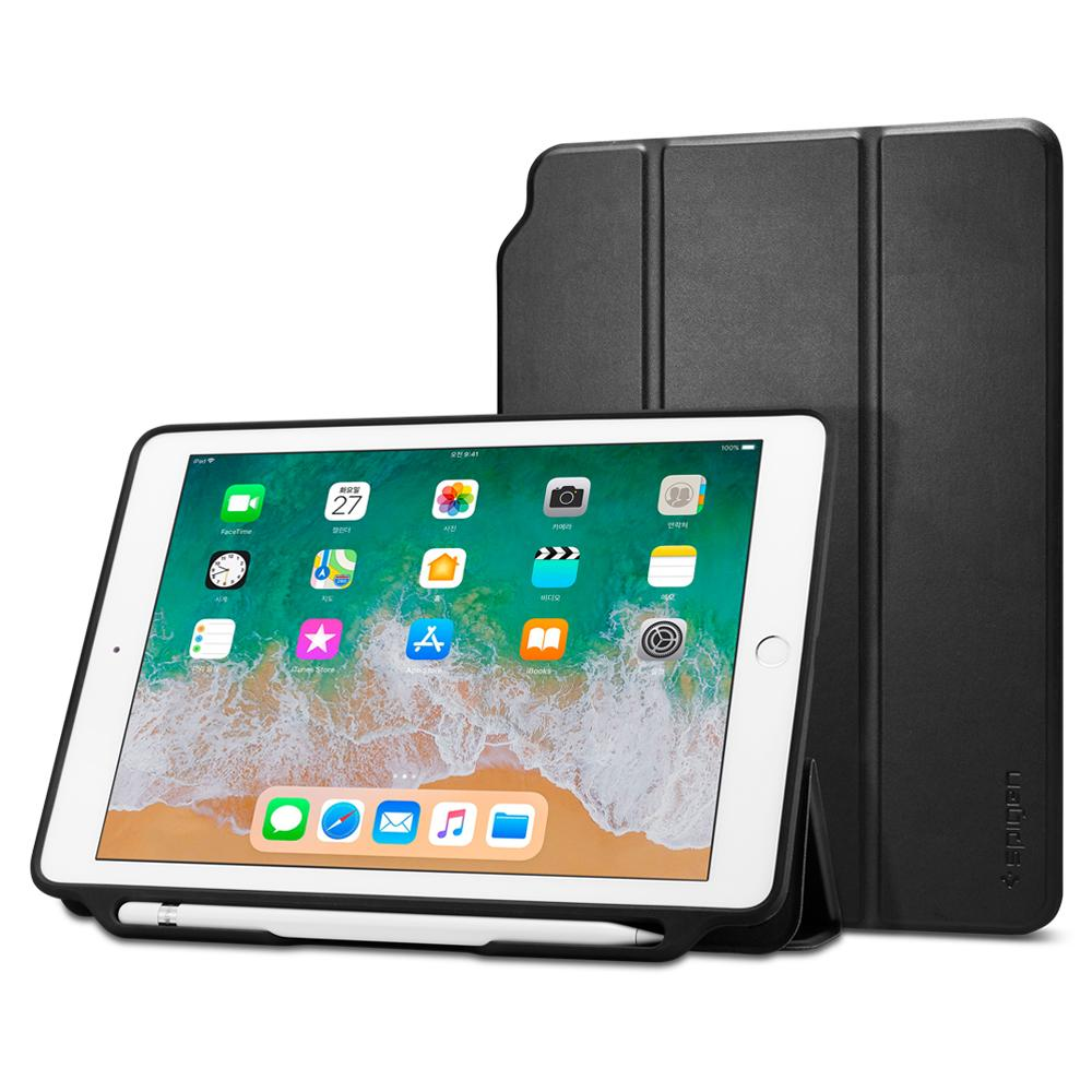 Θήκη Spigen Smart Fold 2 (iPad 9.7 2017/2018) Black