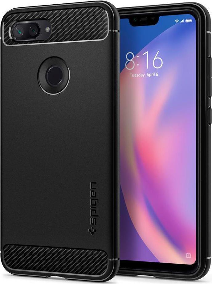 Θήκη Spigen Rugged Armor για Xiaomi Mi 8 Lite Black