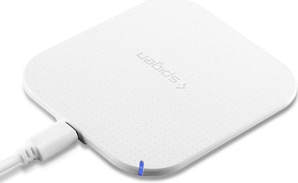 Spigen Wireless Charging Pad Qi F302W White