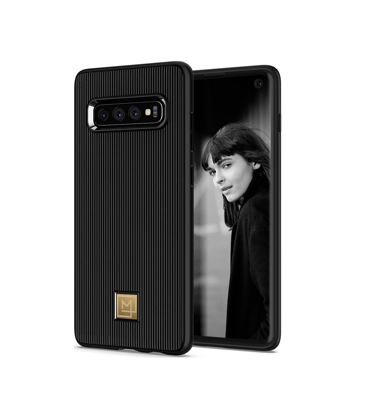 Θήκη Spigen La Manon Classy Back Cover για Samsung Galaxy S10 G973 Black